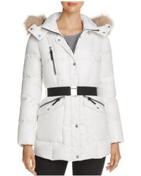 Marc New York - Lucy Faux Fur Trim Puffer Jacket - Lyst