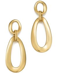 Ippolita | 18k Yellow Gold Cherish Link Drop Earrings | Lyst