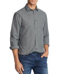 Bloomingdale's - Plaid Broadcloth Slim Fit Shirt - Lyst