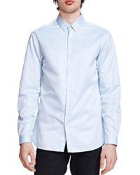 The Kooples - Twill Trim Fit Shirt - Lyst