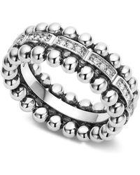 Lagos - Caviar Spark Diamond Band Ring - Lyst