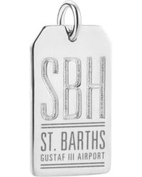 Jet Set Candy - Sbh St. Barts Luggage Tag Charm - Lyst