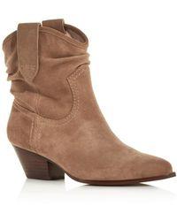 Rachel Zoe - Women's Clay Mid-heel Western Booties - Lyst