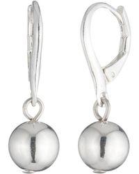 Ralph Lauren - Lauren Sphere Drop Earrings - Lyst