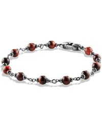 David Yurman - Spiritual Beads Rosary Bracelet In Red Tiger Eye - Lyst