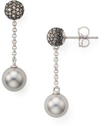 Nadri | Pavé Drop Earrings | Lyst