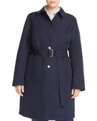 Marina Rinaldi - Tabella Belted Raincoat - Lyst
