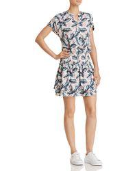 Rails - Angelina Palm Print Drop-waist Dress - Lyst