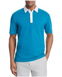 Theory - Rugby Regular Fit Polo Shirt - Lyst