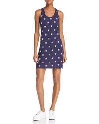 Alternative Apparel - Effortless Star Print Tank Dress - Lyst