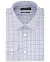 Bloomingdale's - Grid - Pattern Regular Fit Dress Shirt - Lyst