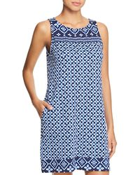 Tommy Bahama - Spa Tank Dress Swim Cover-up - Lyst