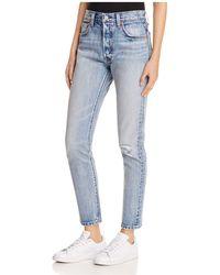 Levi's - 501® Selvedge Skinny Jeans In Summer Dune - Lyst