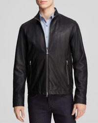 Theory - Kelleher Morvek L Leather Jacket - Lyst