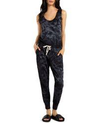 ae85713a0d4 n PHILANTHROPY - N Philanthropy Sleeveless Tie-dye Jumpsuit - Lyst