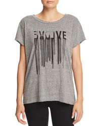 Current/Elliott - The Relaxed Graphic Tee - Lyst