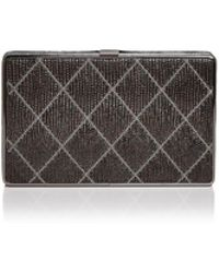 Sondra Roberts - Quilted Leather Clutch - Lyst