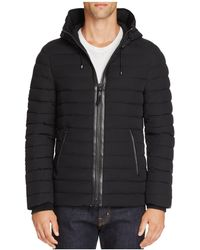 Mackage - Zane Leather Bomber - Lyst