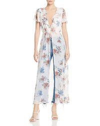 Sage the Label - Sweet Alchemy Floral-print Kimono - Lyst