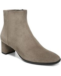 Via Spiga - Women's Vail Almond Toe Mid-heel Booties - Lyst