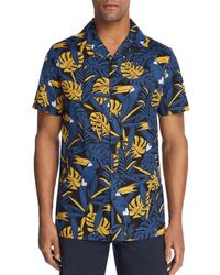 Onia - Incognito Toucan Camp Shirt - Lyst