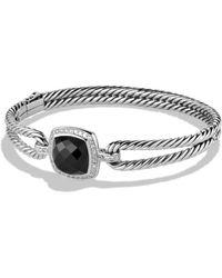 David Yurman - 'albion' Bracelet With Semiprecious Stone And Diamonds - Lyst