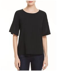 French Connection | Pin-tucked Sleeve Top | Lyst