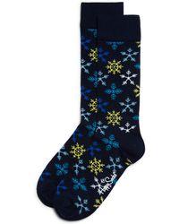 Happy Socks | Snowflake Socks | Lyst