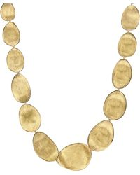 Marco Bicego - 18k Yellow Gold Lunaria Collar Necklace - Lyst