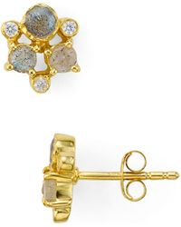 Argento Vivo - Sydney Cluster Stud Earrings - Lyst