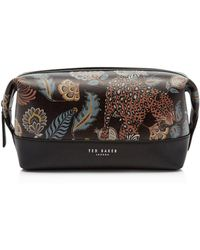 Lyst - Ted Baker Wash Bag And Towel Set in Black for Men 4f131abf29fb3