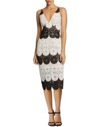 Dress the Population - Vera Lace Dress - Lyst