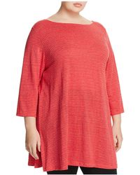 Eileen Fisher | Striped Tunic | Lyst