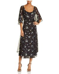 June & Hudson - Floral Wrap Dress - Lyst