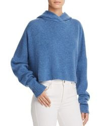 Theory - Cashmere Drop Shoulder Hoodie - Lyst