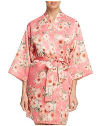 Flora Nikrooz - Rosanna Satin Kimono - Lyst