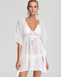 Echo - Solid Silky Butterfly Cover-up - Lyst