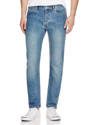 A.P.C. - Petit New Standard Slim Fit Jeans In Stonewash - Lyst
