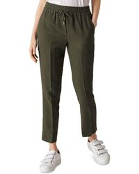 Whistles - Cropped Drawstring Pants - Lyst