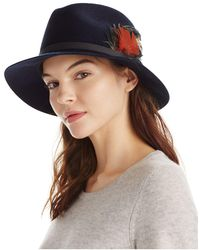 Tory Burch - Feather Fedora - Lyst
