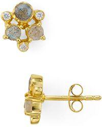Argento Vivo - Sydney Cluster Stud Earrings - Lyst