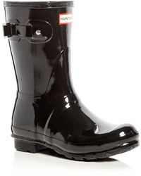 Hunter | Original Short Glossy Rain Boots | Lyst