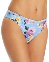 Nanette Lepore - Monaco Bouquet Bikini Bottom - Lyst