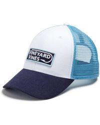 Vineyard Vines - Hook Patch Trucker Hat - Lyst