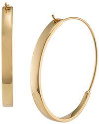 Ralph Lauren - Lauren Structural Hoop Earrings - Lyst