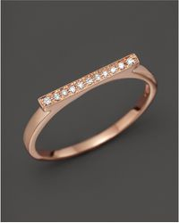 Dana Rebecca - Diamond Sylvie Rose Ring In 14k Rose Gold - Lyst