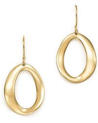 Ippolita | 18k Yellow Gold Cherish Single Link Drop Earrings | Lyst