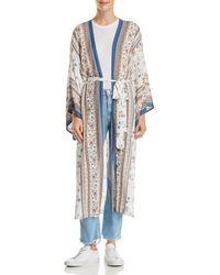 Lost + Wander - Lost + Wander Tulum Printed Kimono - Lyst