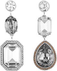 Atelier Swarovski - By Tabitha Simmons Mismatched Drop Earrings - Lyst