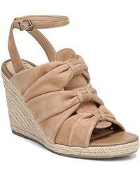 Sam Edelman - Women's Awan Suede Espadrille Wedge Sandals - Lyst